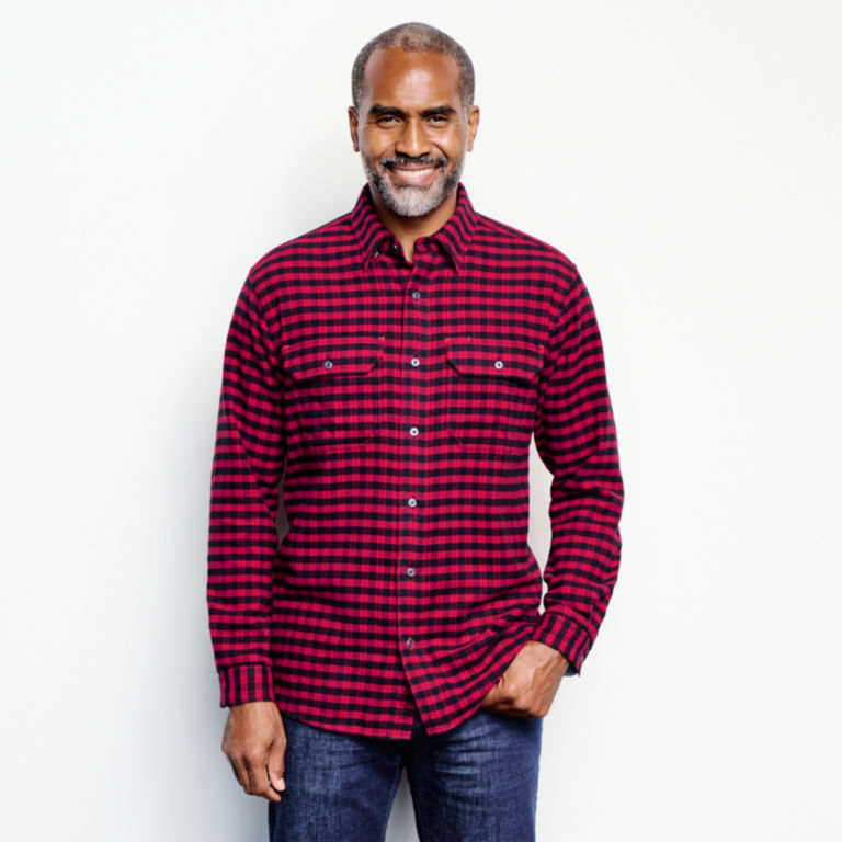 Mid Mountain Tech Flannel Shirt -  image number 1