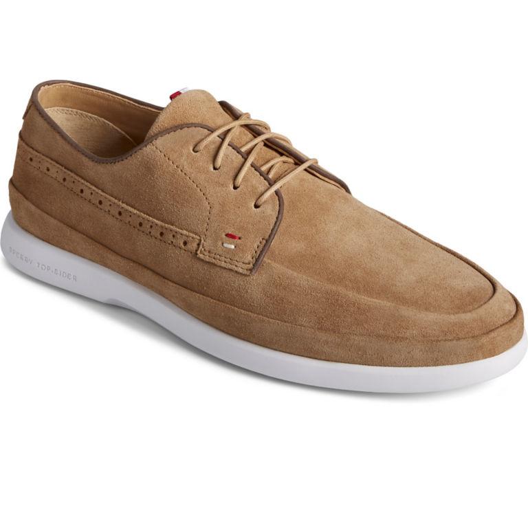 Sperry® Gold Cup Plushwave 4-Eye Sneakers - TAN SUEDE image number 1