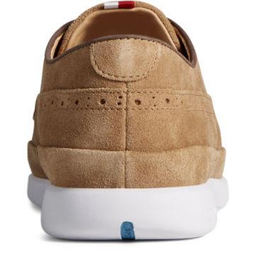 Sperry® Gold Cup Plushwave 4-Eye Sneakers - TAN SUEDE image number 3