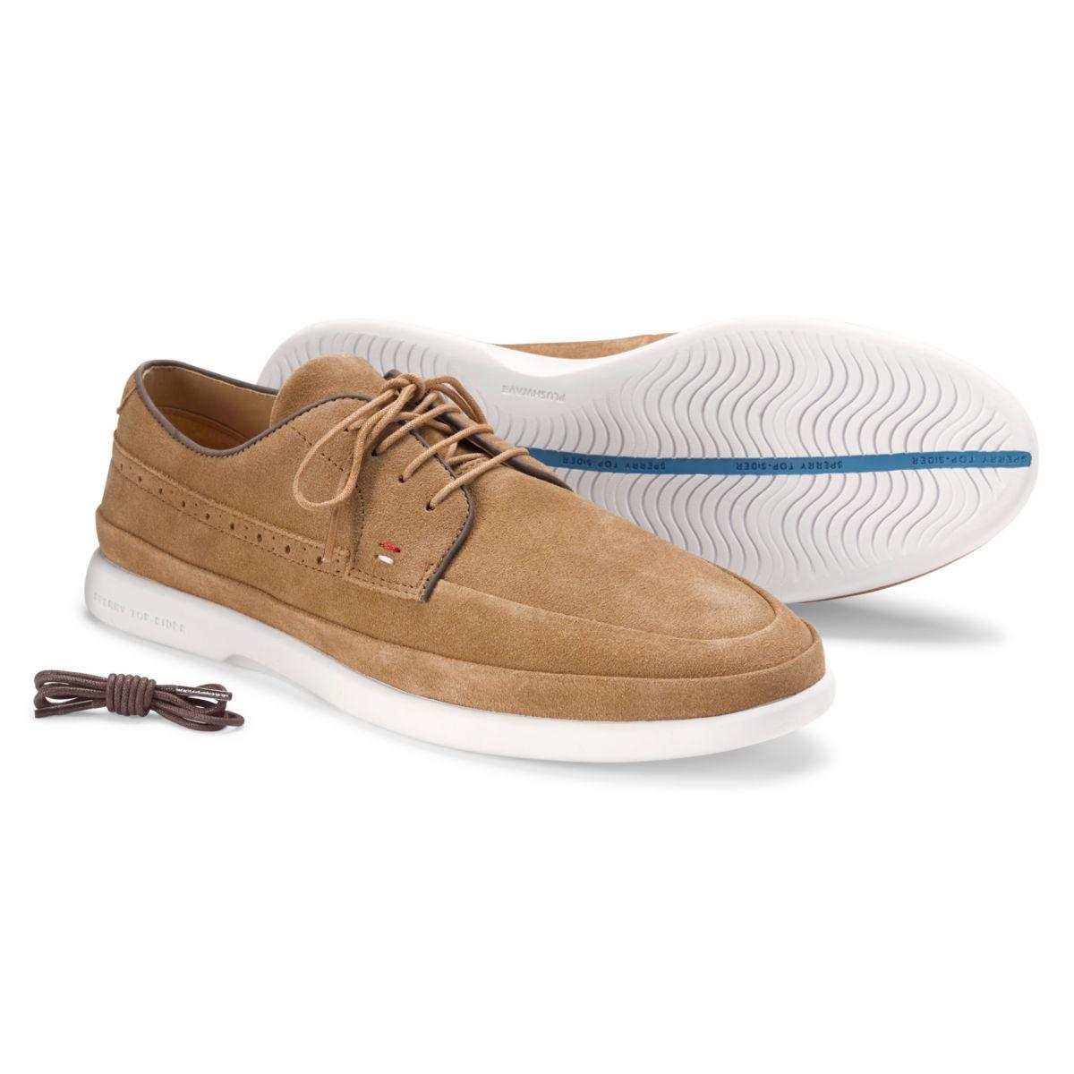 Sperry® Gold Cup Plushwave 4-Eye Sneakers - TAN SUEDEimage number 0