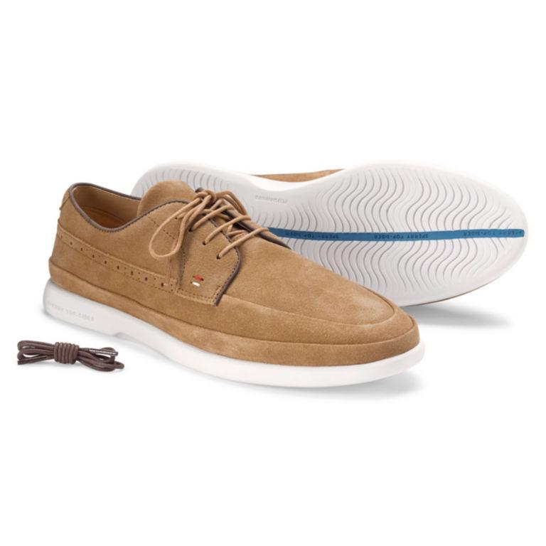Sperry® Gold Cup Plushwave 4-Eye Sneakers - TAN SUEDE image number 0