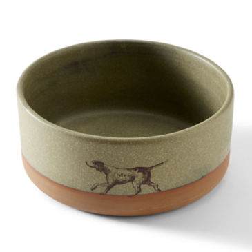 Ceramic Dog Bowl -