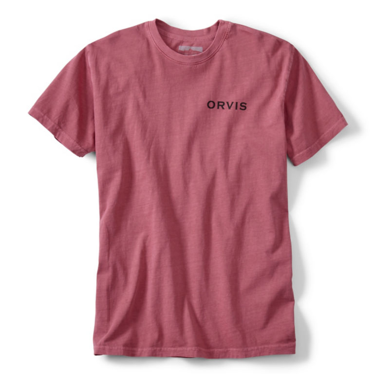 Redfish Tail T-Shirt - WASHED RED image number 0
