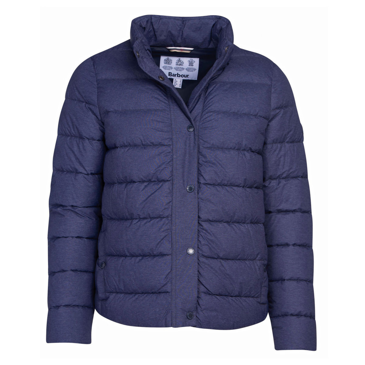 Barbour® Piddock Quilted Jacket - DARK NAVYimage number 0