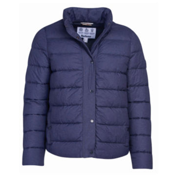 Barbour® Piddock Quilted Jacket - DARK NAVY image number 0
