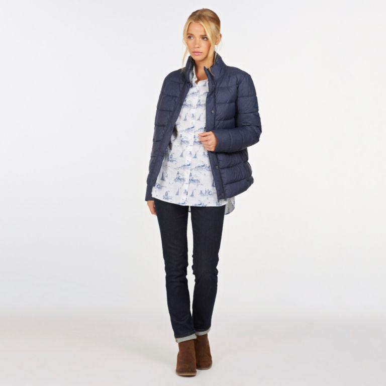 Barbour® Piddock Quilted Jacket - DARK NAVY image number 5