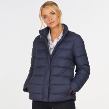 Barbour® Piddock Quilted Jacket - DARK NAVY image number 1