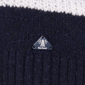 Barbour® Ramble Knit - NAVY/CLOUD image number 3