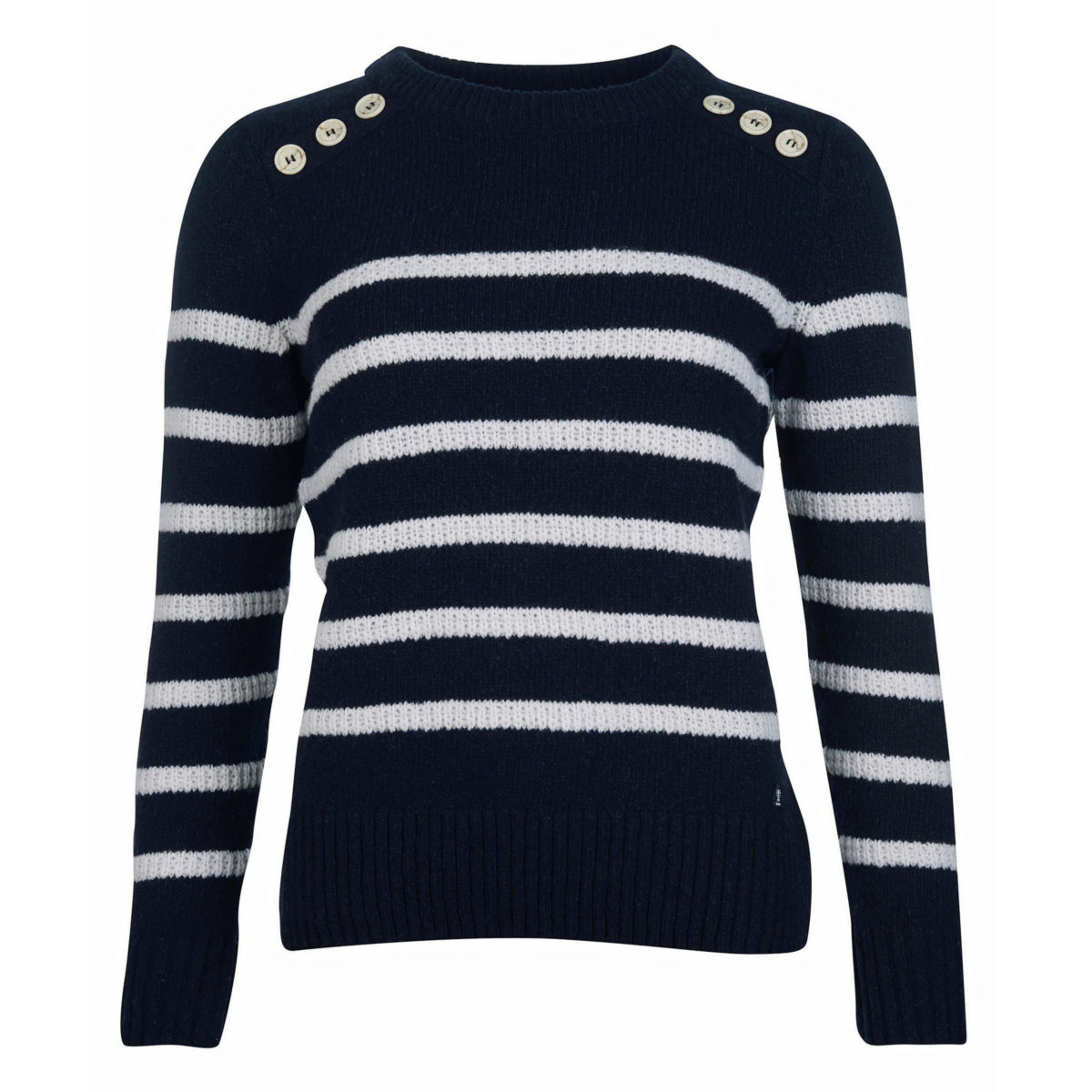 Barbour® Ramble Knit - NAVY/CLOUDimage number 0