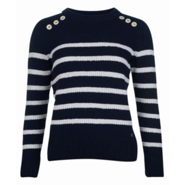 Barbour® Ramble Knit - NAVY/CLOUD image number 0