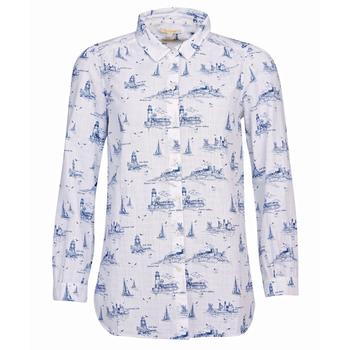 Barbour® Seagrass Shirt - CLOUDimage number 0
