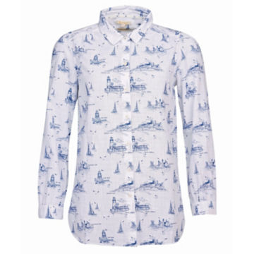 Barbour® Seagrass Shirt - CLOUD image number 0