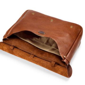 No. 1 Saddle Briefcase - BROWN image number 3