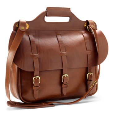 No. 1 Saddle Briefcase -