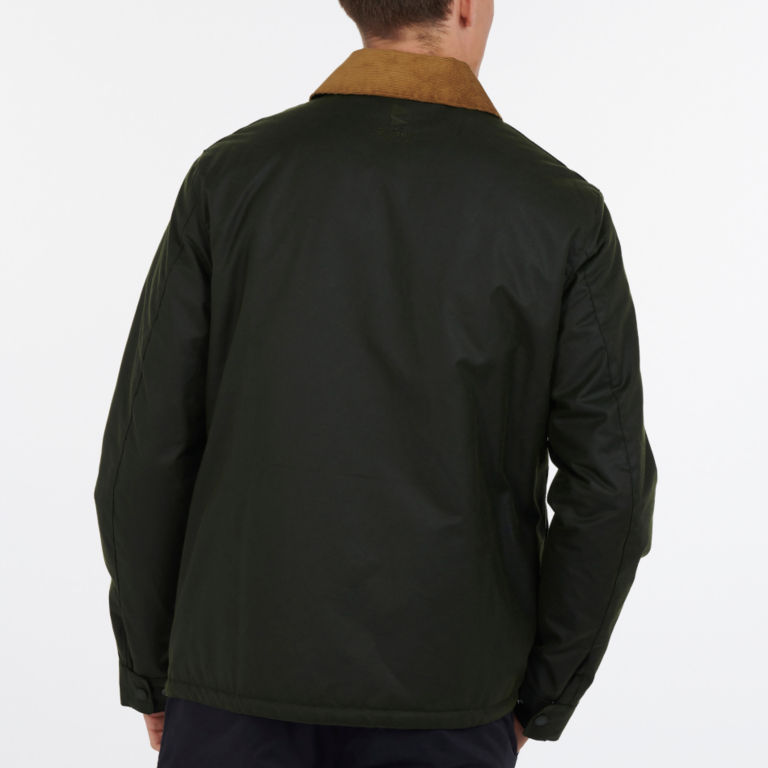 Barbour® Allund Waxed Cotton Jacket - FOREST image number 2