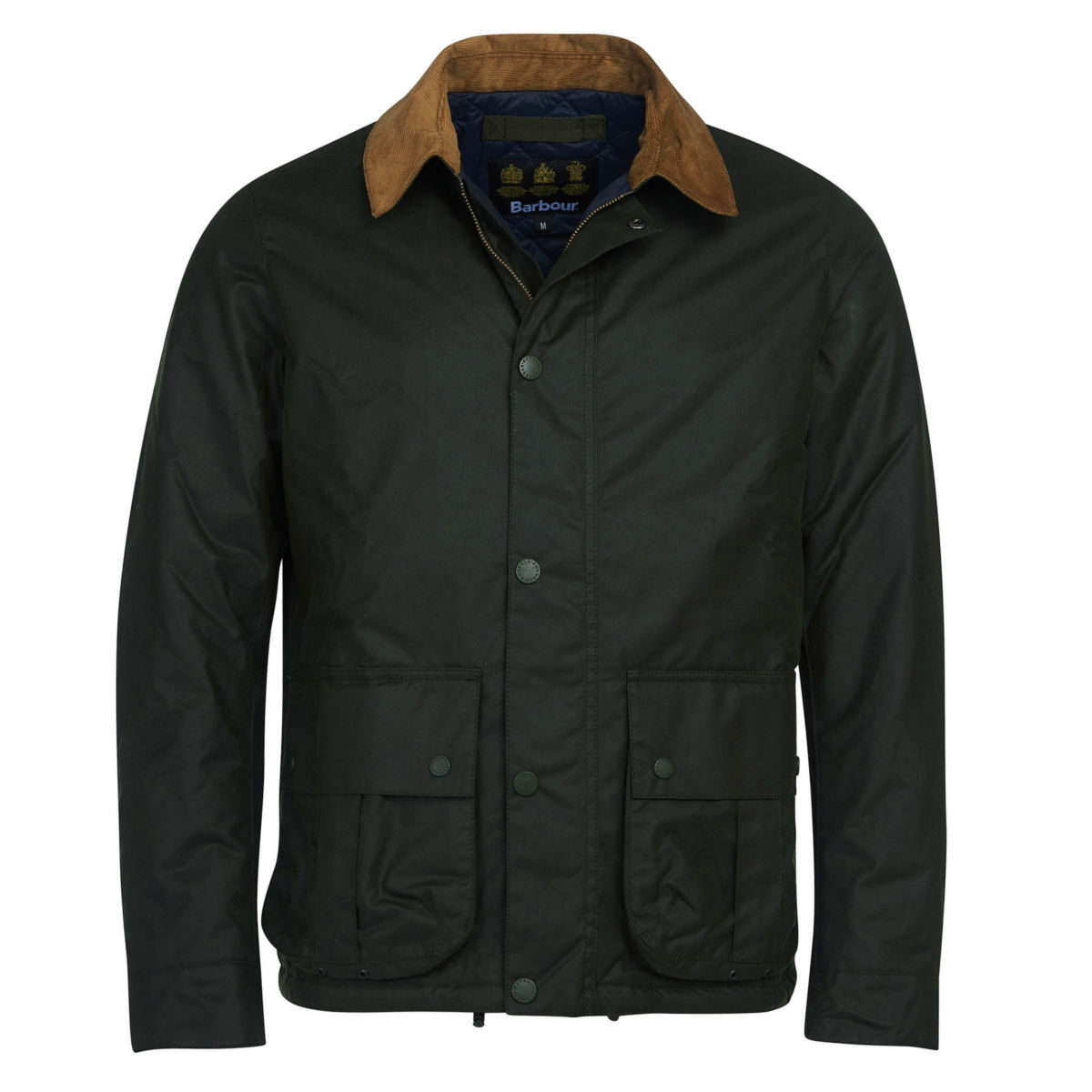 Barbour® Allund Waxed Cotton Jacket - FORESTimage number 0