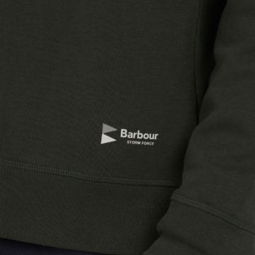 Barbour® Lockley Half-Zip - FOREST image number 4