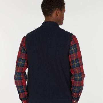 Barbour®  Ballard Gilet - NAVY image number 2