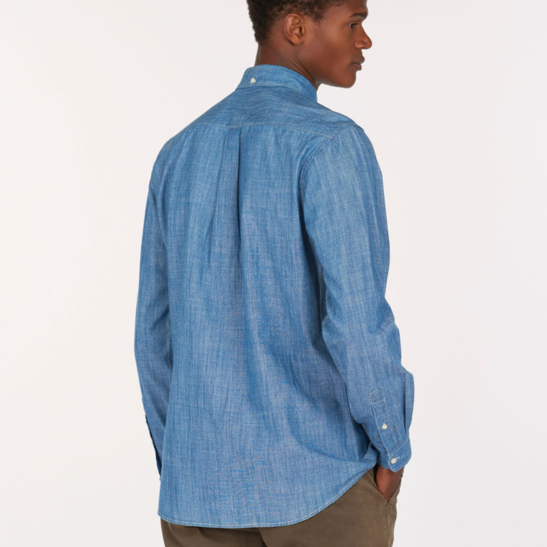 Barbour® Chambray 1 Tailored Shirt - CHAMBRAY image number 2