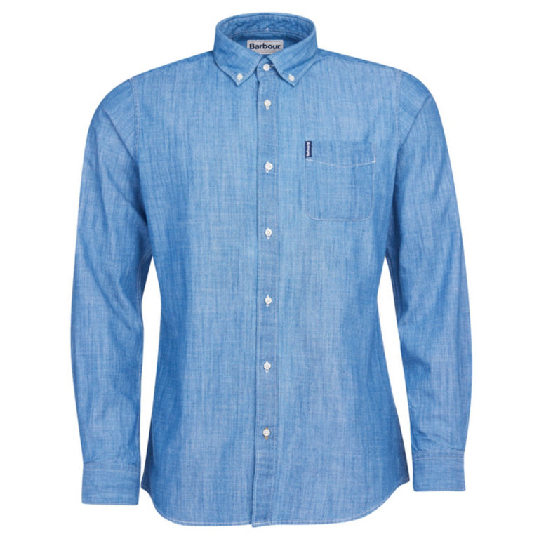 Barbour® Chambray 1 Tailored Shirt - CHAMBRAY image number 0