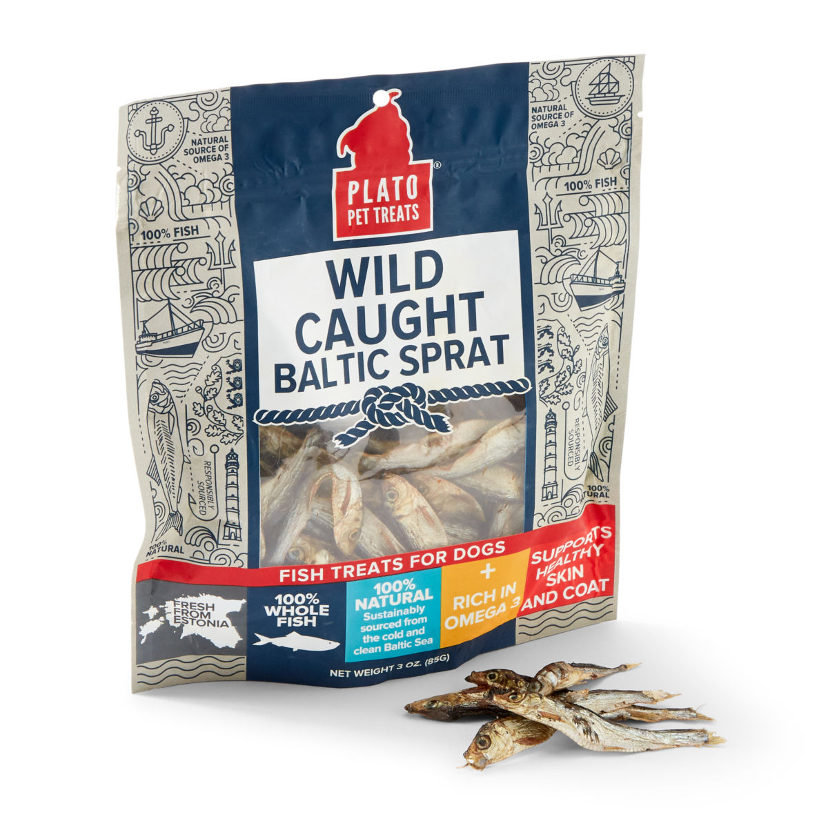 Baltic Sprats Dog Treats - image number 0