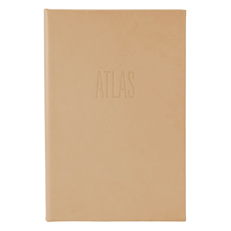 Premium Leather-Bound Atlas -  image number 0