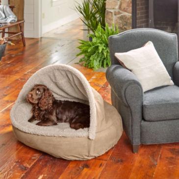 ComfortFill-Eco™ Burrower Bed with Fleece -