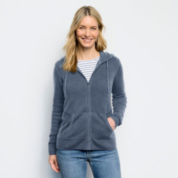 Garment-Dyed Cashmere Hoodie -