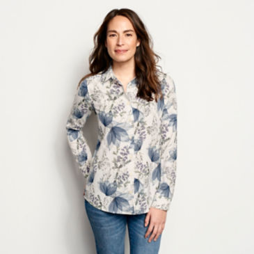 Long-Sleeved Everyday Silk Shirt -