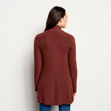 Merino/COOLMAX® Long Open Cardigan -  image number 2
