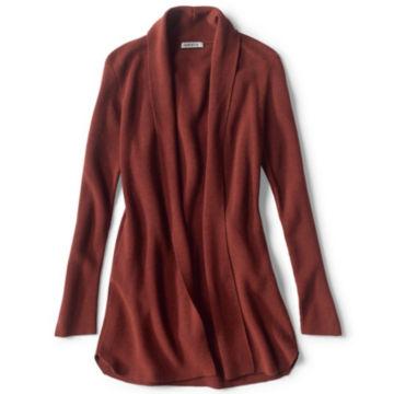 Merino/COOLMAX® Long Open Cardigan -  image number 5