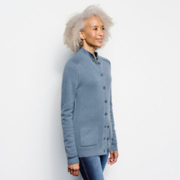 Garment-Dyed Cashmere Cardigan -  image number 1