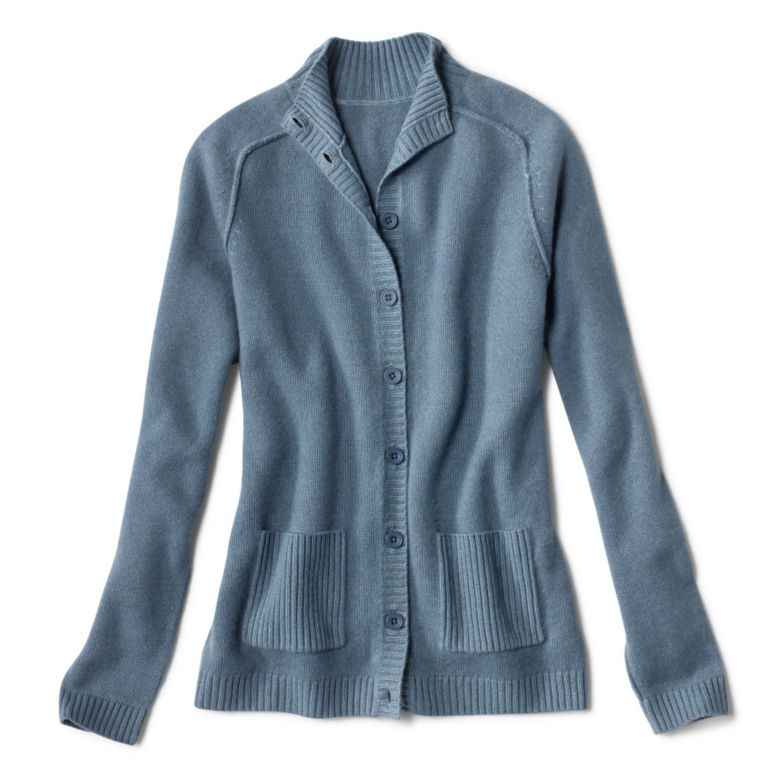 Garment-Dyed Cashmere Cardigan -  image number 4