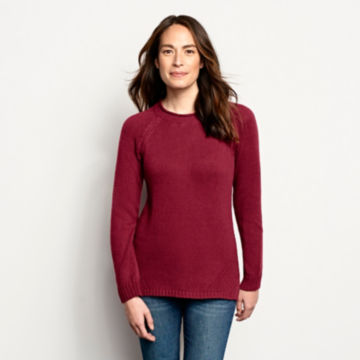 Garment-Dyed Easy Crew Sweater -  image number 0