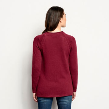 Garment-Dyed Easy Crew Sweater -  image number 2