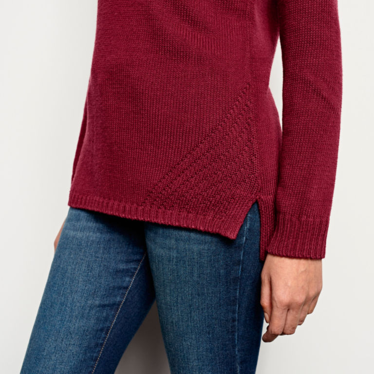 Garment-Dyed Easy Crew Sweater -  image number 4