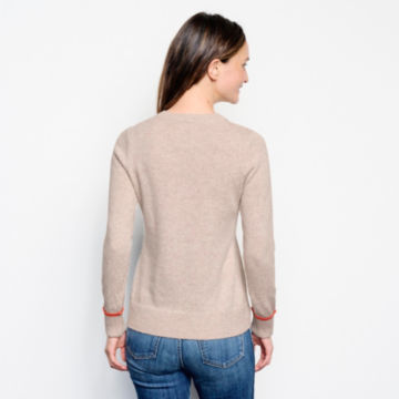 Classic Tipped Crew Sweater -  image number 2