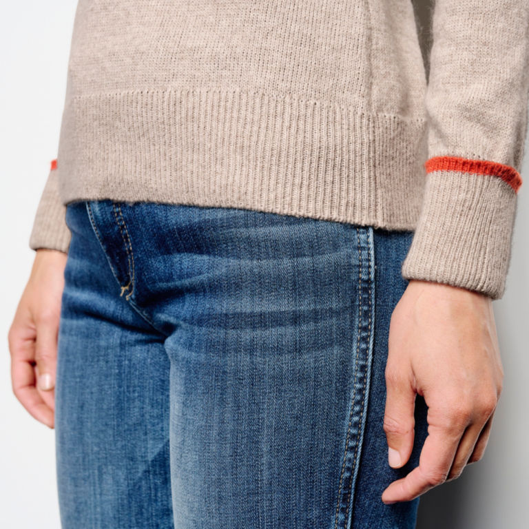 Classic Tipped Crew Sweater -  image number 4