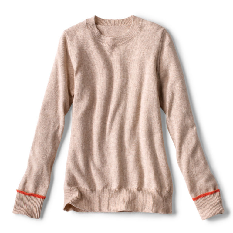 Classic Tipped Crew Sweater -  image number 5