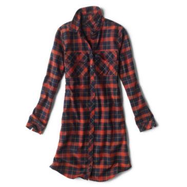 Lodge Flannel Shirtdress -