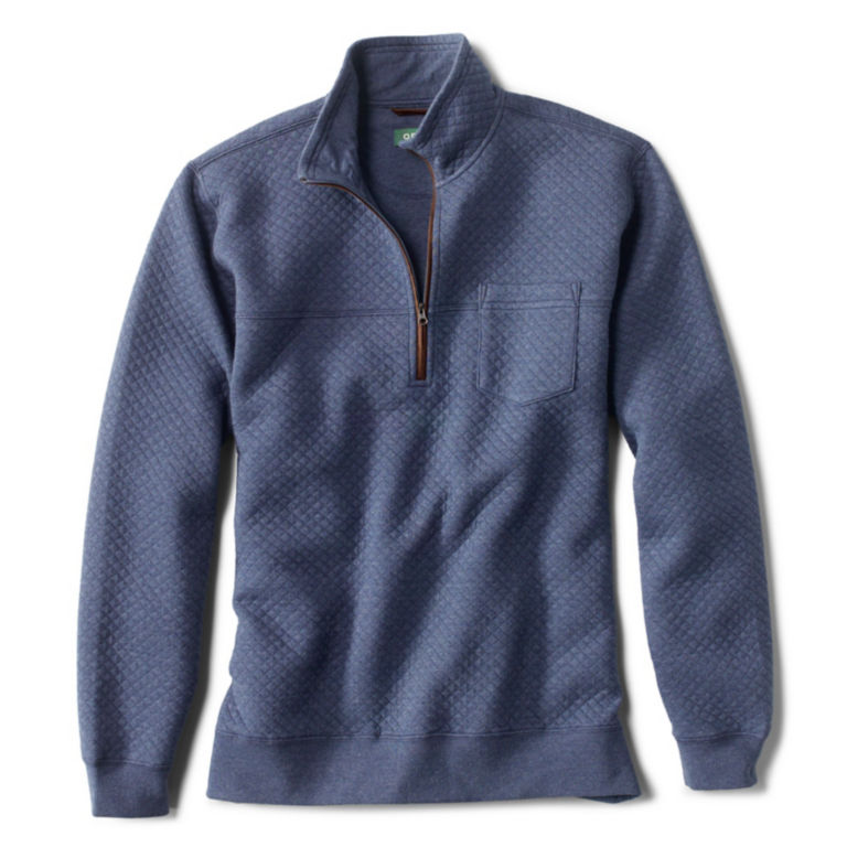 Quilted Quarter-Zip Pullover -  image number 0