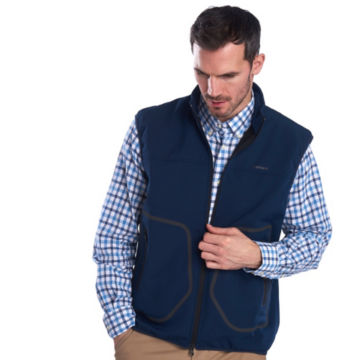 Barbour® Livingstone Fleece Gilet - NAVY image number 1