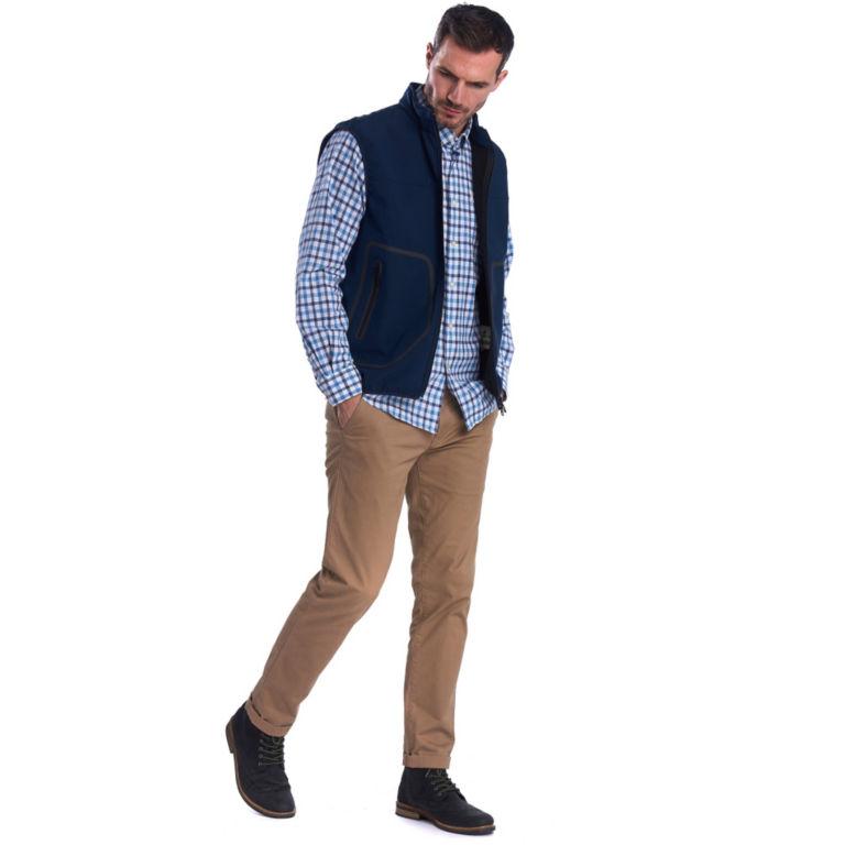 Barbour® Livingstone Fleece Gilet - NAVY image number 5