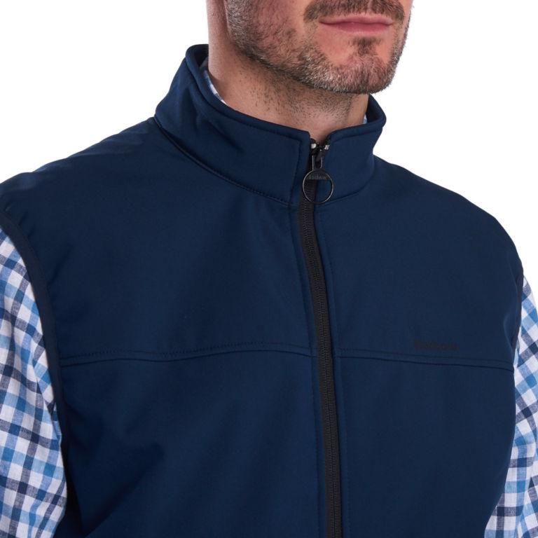 Barbour® Livingstone Fleece Gilet - NAVY image number 3