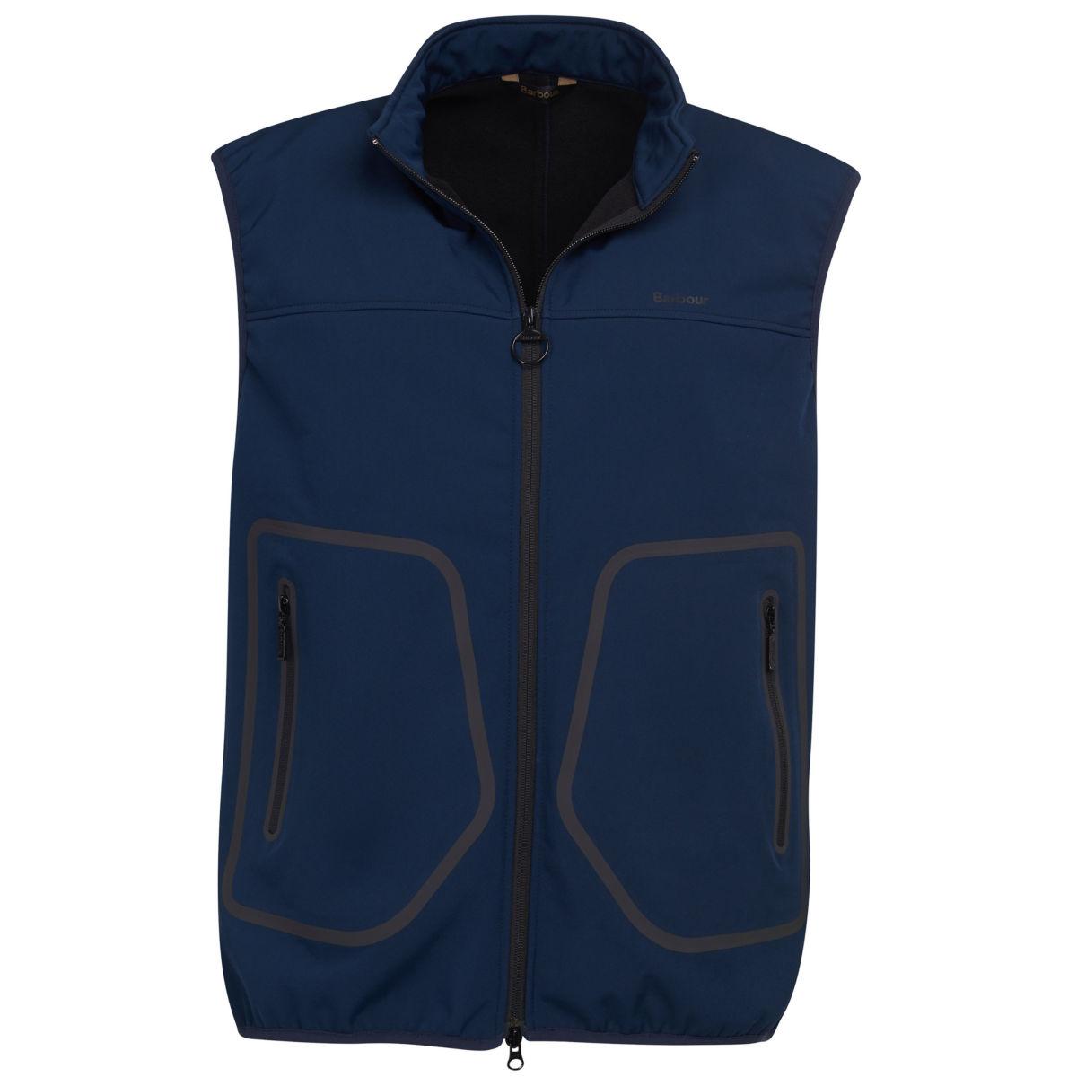 Barbour® Livingstone Fleece Gilet - NAVYimage number 0