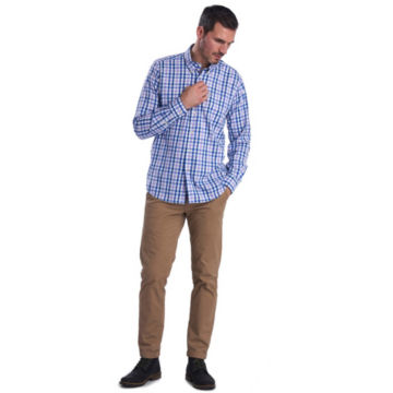 Barbour® Cres Performance Shirt - PURPLE image number 5