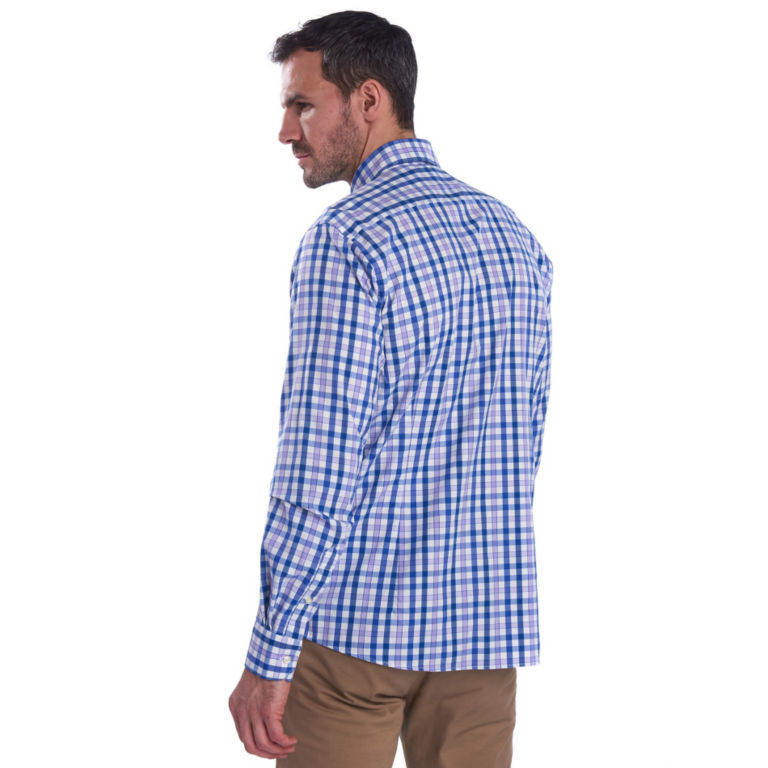 Barbour® Cres Performance Shirt - PURPLE image number 2