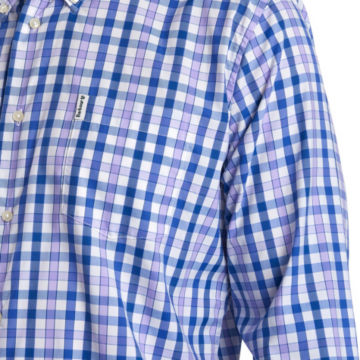 Barbour® Cres Performance Shirt - PURPLE image number 4
