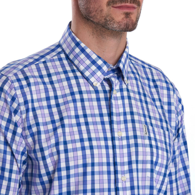 Barbour® Cres Performance Shirt - PURPLE image number 3