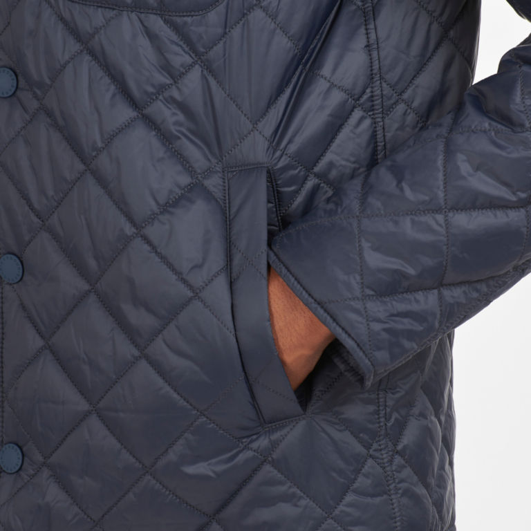 Barbour® Tember Quilted Jacket - NAVY image number 4